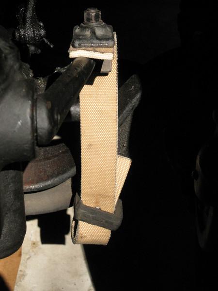 Shockabsorber / strap