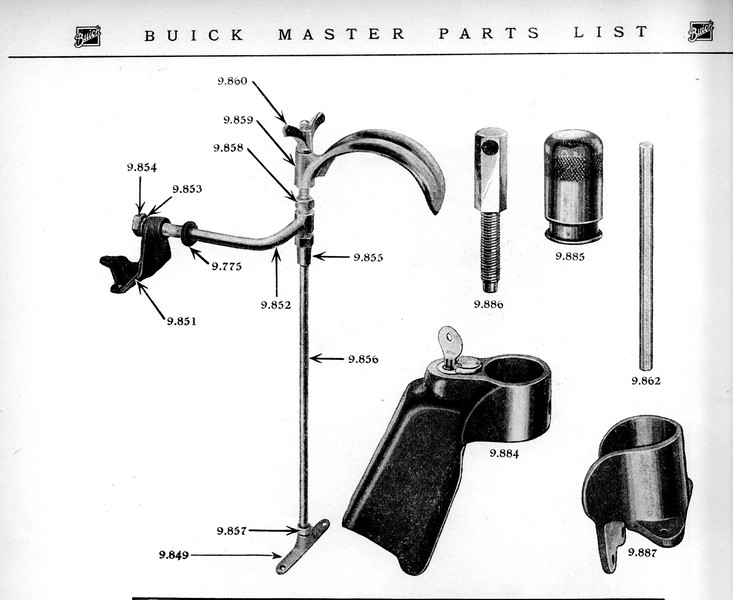 Side-Mount Hardware (from Parts Manual)