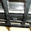 Trunk rack on SINGLE side-mounted 29-27.  Note: no covers on go over the rear mounted spare tire bracket holders that poke through the gas tank cover.