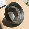 Hub dust cover for wire wheels (goes on end of axle)