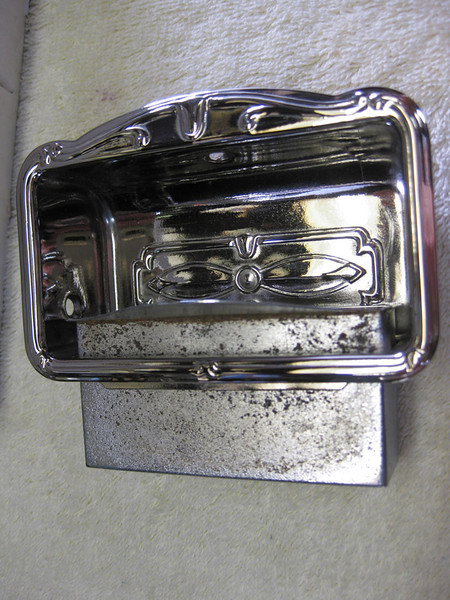 Door Mounted Ashtray - supplied by Dave Weimer