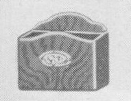 Smoking Receiver for models:  50, 50L, 57 & 58.  (50L had a Smoking Case with a small Ash Receiver and a wired, electric Cigar Lighter;  50 had a Smoking Case with a small Ash Receiver and a Match Box Holder;  57 had a Smoking Case with just a large style Ash Receiver  and 58 also had just the Ash Receiver but it is a small style one.)