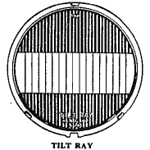 Tilt-Ray Headlamp.  2 versions (early and late) were available - see Headlamp Data Page for serial number info by model (from Skinned Knuckles).