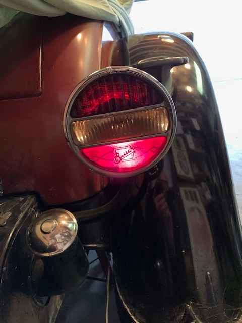 Tail Light withParking or  Headlights on.