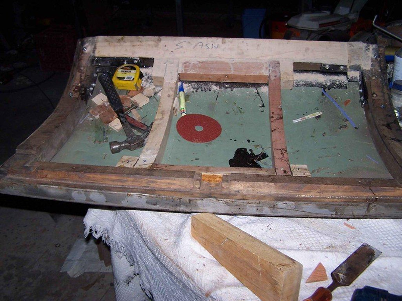 29-44X - Rumble Seat Wood Frame (by Vaughn Gunthorpe)