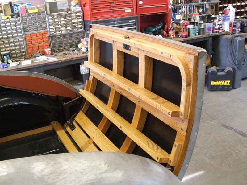 29-44 - Completed Rumble Seat Wood Frame (by Mark Gillespie)