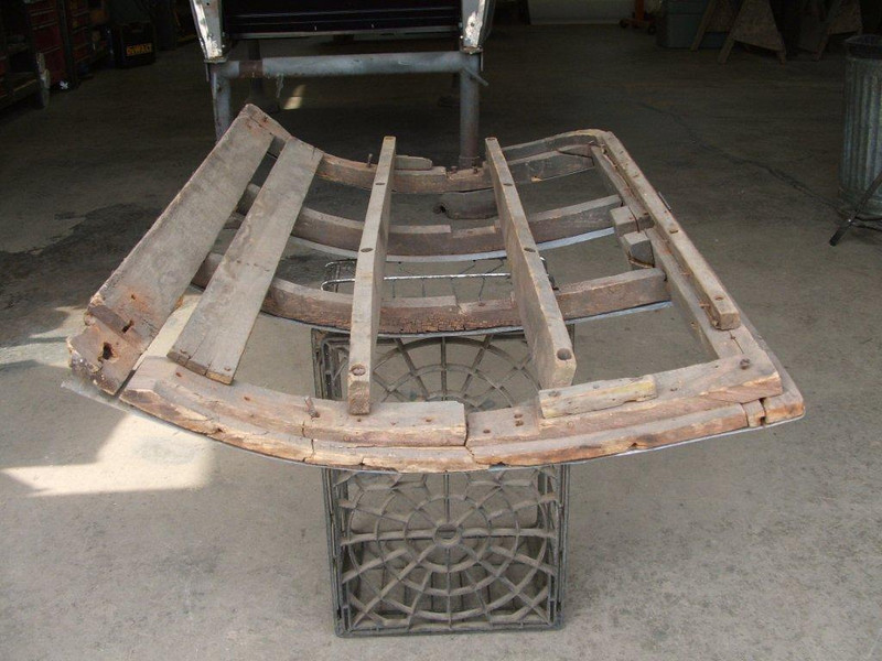 29-44 - Rumble Seat Wood Frame (by Mark Gillespie)