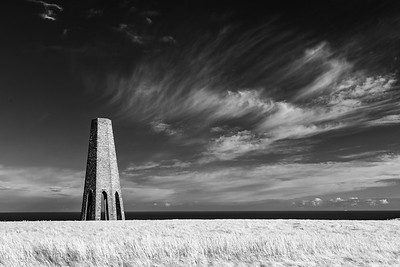 Daymark Tower, Kingswear in Infra-Red_3