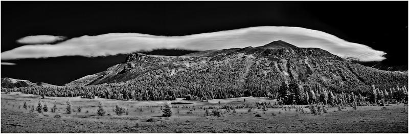 Lenticular Clouds Yosemite