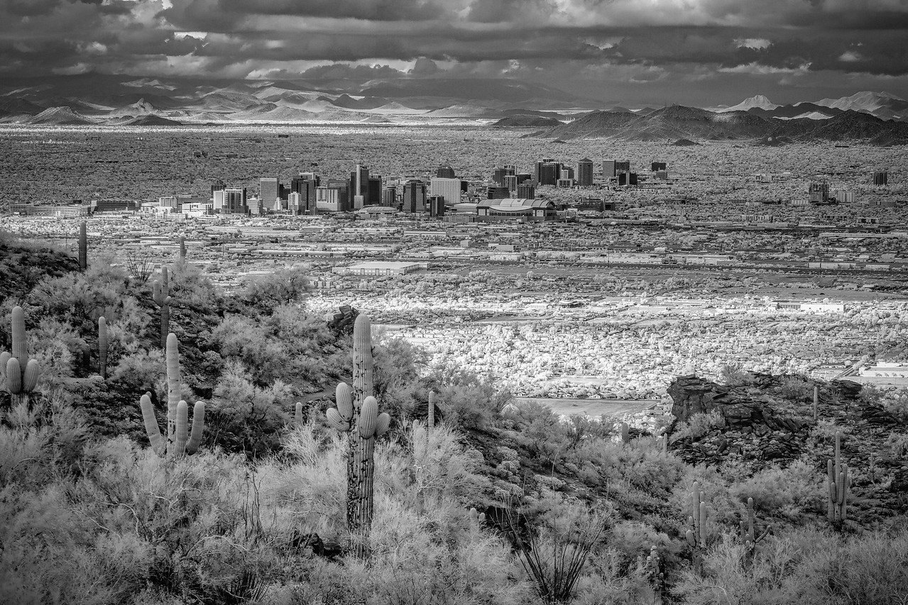 Downtown Phoenix From South Mountain