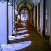 07/04/2014 – 12:45 (INFRARED) Portici di via Entella, Chiavari. Riviera Ligure di Levante Genoa Italy
