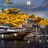 08/05/2014 – 14:54 (INFRARED) Portofino, Golfo del Tigullio. Riviera Ligure di Levante, Genoa Italy