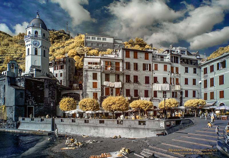 24/06/2014 – 18:38 (INFRARED) Vernazza, Le Cinque Terre, Riviera Ligure di Levante, La Spezia Italy