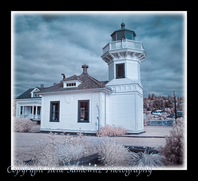 Mukilteo Lighthouse Infrared