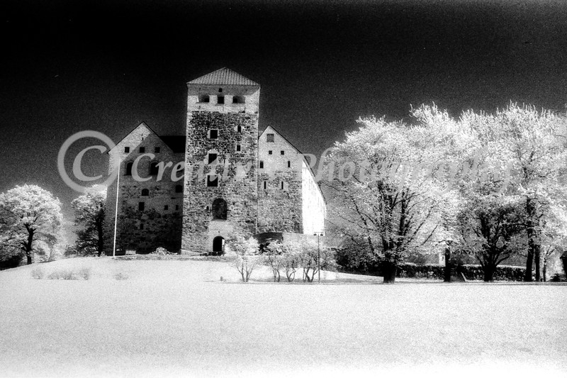 Turku Castle, Turku Finland - Infrared #01