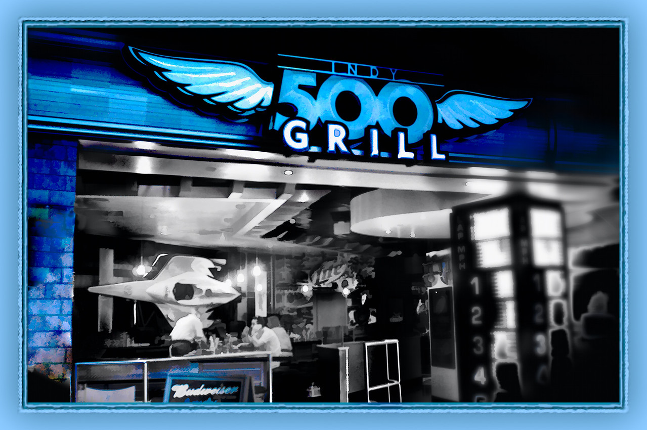 Indianopolis Airline Infrared<br /> Indy Grill