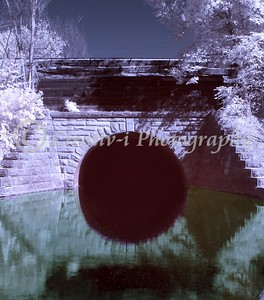 Tunnel of Darkness-Infrared- Milford, Michigan