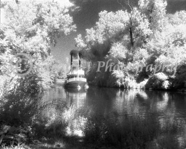 Steamboat Suwanee-  Black and White Infrared #03