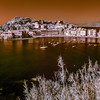 09/03/2014 11:47 (INFRARED) The Peninsula and the East Bay of Sestri Levante, Italian Riviera, Genoa Italy