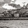 26/02/2014 – 18:04 (INFRARED) Baia di Ponente al crepuscolo, Sestri Levante. Golfo del Tigullio, Riviera Ligure di Levante, Genoa Italy