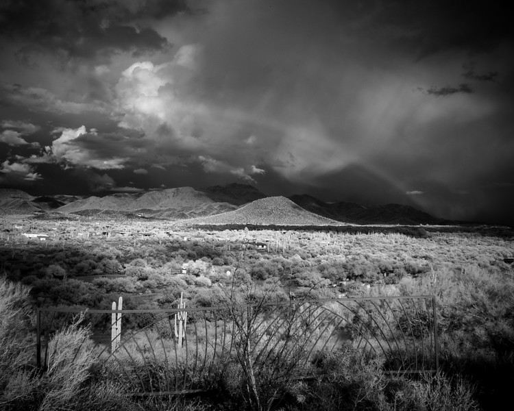 Infrared Rainbow-Cave Creek Area