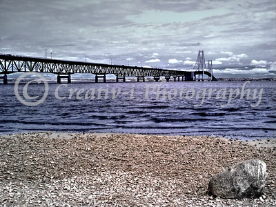 Mackinac Bridge East View #01