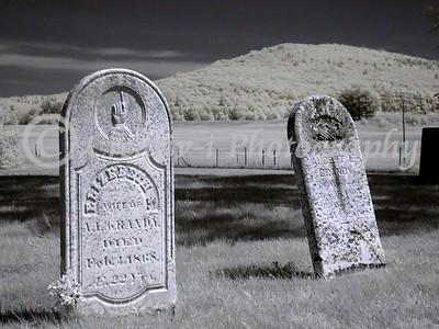 The Graves of Albert & Elizebeth Grandy-
