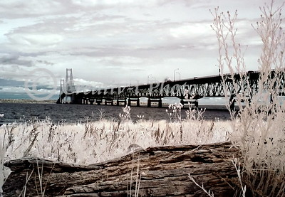 Mackinac Bridge West View #02