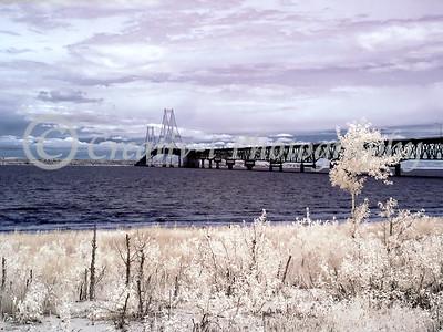 Mackinac Bridge- West View #04