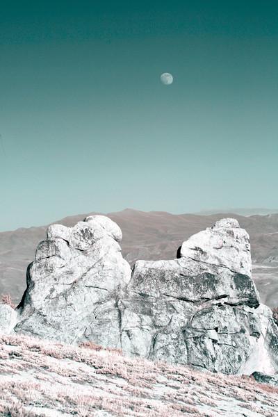 Moonrise Over Mt. Rose