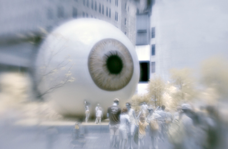 The Big Eye - Visiting Chicago Art