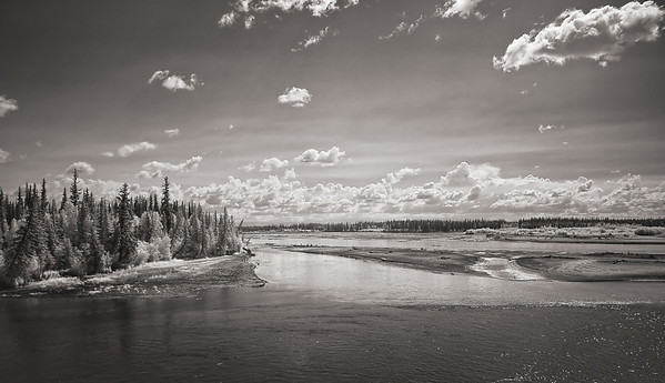Chena River vista