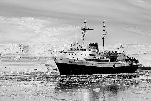 MV Ushuaia in Neko Harbor