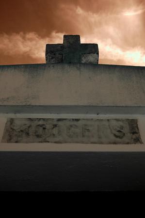 Infrared Cemetery June 2009