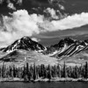 The Ansel Adams look by way of Infrared. Denali Highway.