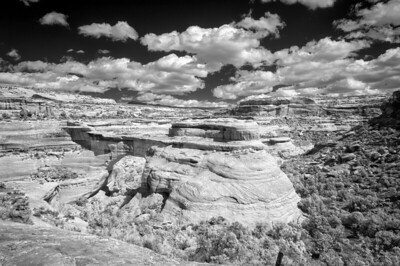 Natural Bridges_Sipapu_9-29-20_DSC2510_720nm-BW_SMUG