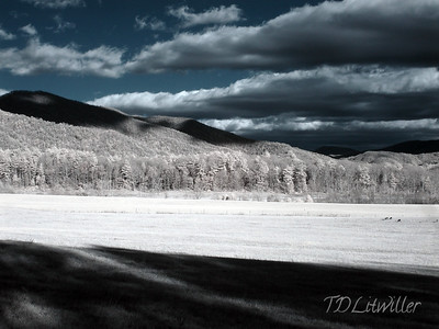 """Smokey Mountains National Park""  Cades Cove, TN.  taken with an R72 filter"