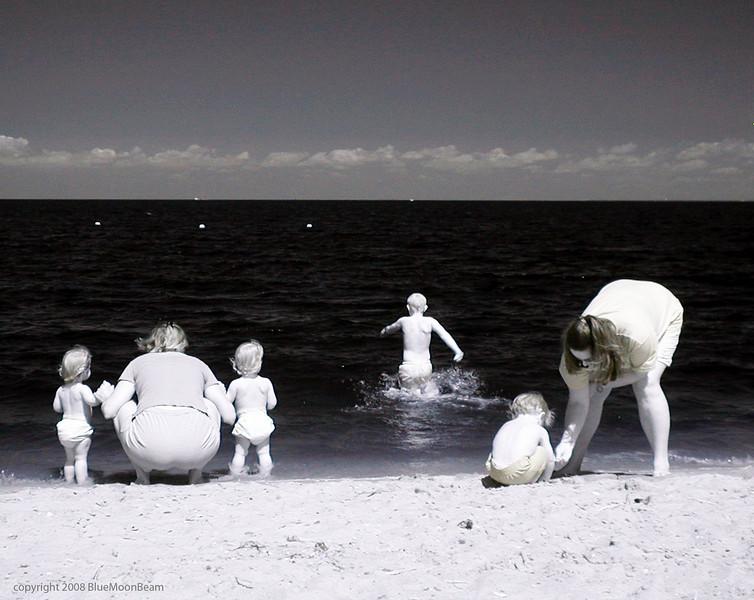 Lewes, Delaware (infrared)