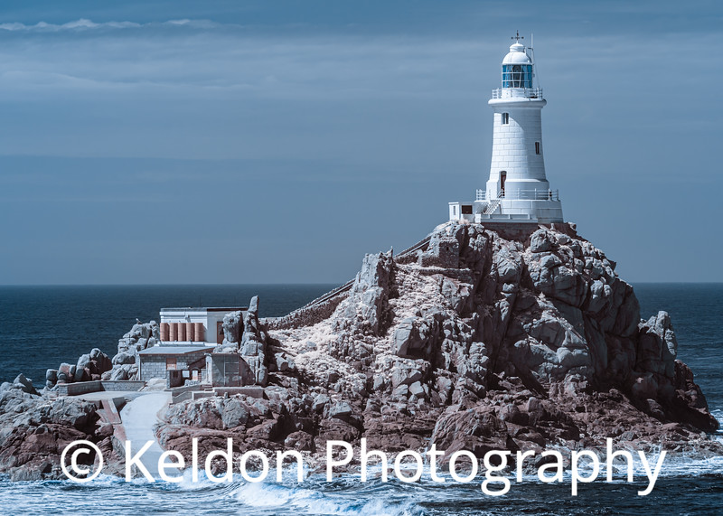 Corbiere Lighthouse in Infrared