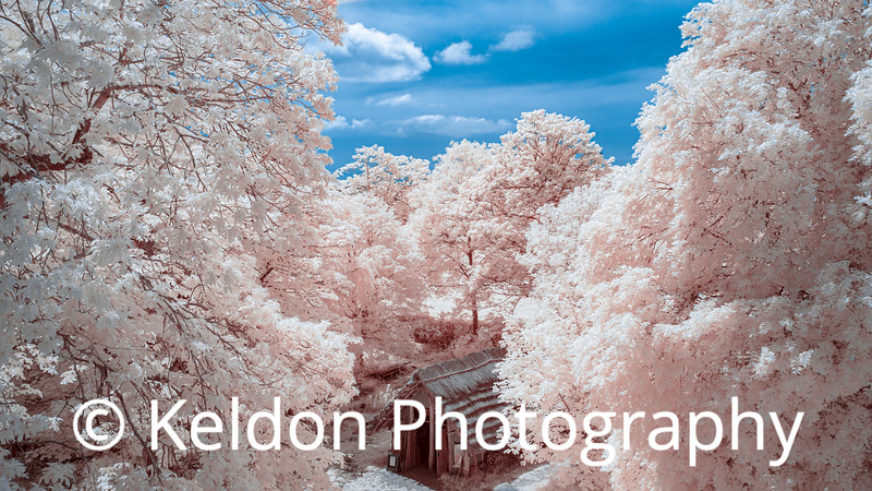 Hougue Bie Longhouse in Infrared