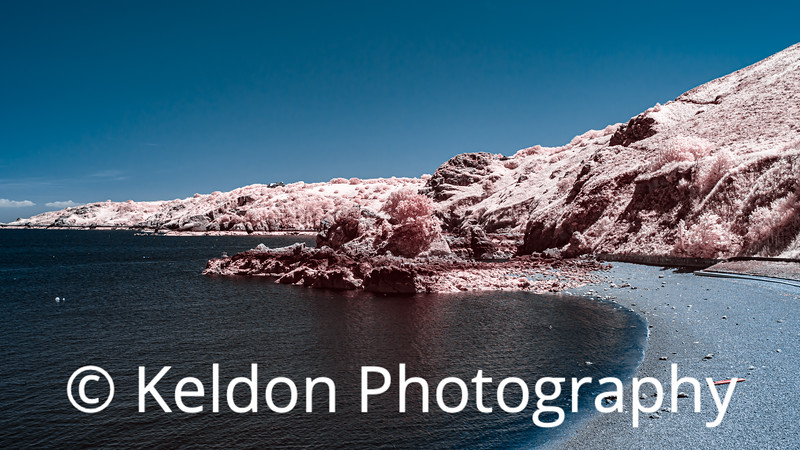 Bouley Bay in Infrared