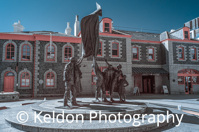 Liberation Square in Infrared