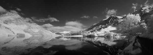 Infrared Lake District Panoramas
