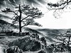 Sunset along Virginia Skyline Drive<br /> - Infrared Photo -