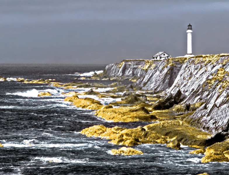 "<h4 style=""color:#CC9999;font-size:150%"" >Point Arena Lighthouse <font style=""color:red"" > 