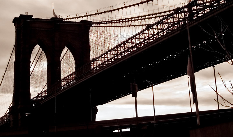 "<h4 style=""color:#CC9999;font-size:150%"" >Brooklyn Bridge II<font style=""color:red"" > 