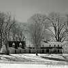 Sotterley Plantation - Manor House<br /> - Infrared Photo -