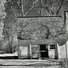 Sotterley Plantation - Slave Quarter (1830's)<br /> - Infrared Photo -