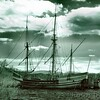 "Arc and Dove Replica <br /> (Used in the Movie ""Mayflower"")<br /> - Infrared Photo -"