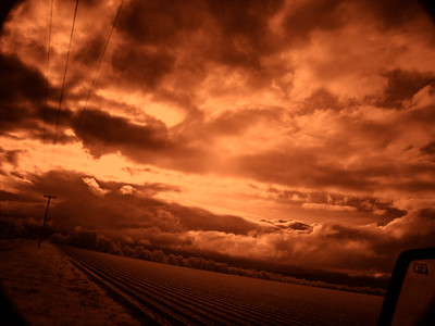 Clouds, Lincoln County, Arkansas, 2004